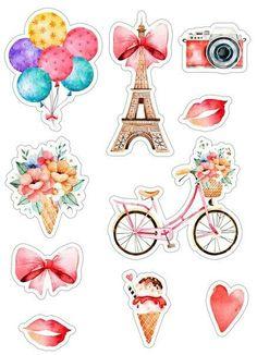 Tzvetelina Vutova-Ilarionova's media content and analytics Journal Stickers, Printable Planner Stickers, Scrapbook Stickers, Scrapbook Paper, Printables, Tumblr Stickers, Cute Stickers, Diy And Crafts, Paper Crafts