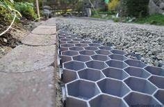 Pea gravel driveway diy