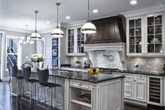 gray+kitchens | contemporary kitchen 25 Glamorous Gray Kitchens