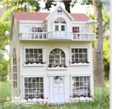 Fairy Tale Homes Dollhouse Miniature DIY Kit Kids Child Bedroom Children Gift | eBay