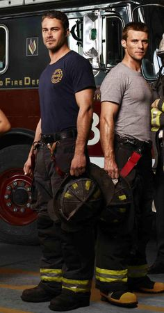 Chicago Fire...a show I will for sure be watching in the Fall.