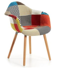 Kevya Patchwork armchair Kave Home!