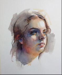 Watercolor.Original by Stan Miller 2015
