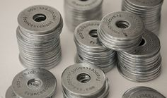 business card coins/washers, Dad would LOVE these, not sure I can make them in time... or ever :)