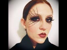 Halloween Makeup: Easy Black Widow