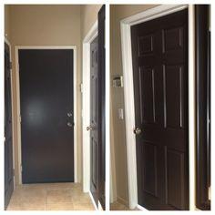 black brown doors love affair on pinterest black. Black Bedroom Furniture Sets. Home Design Ideas