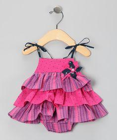 Bubblegum Viviene Skirted Bodysuit - infant