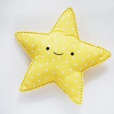 Cojin Estrella // Easy-Sew Star Snuggler
