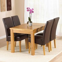 Merveilleux Light Oak Dining Room Sets