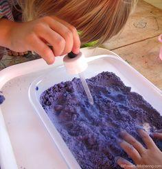 Fizzy Cloud Dough Experiment (Taste Safe) | Powerful Mothering