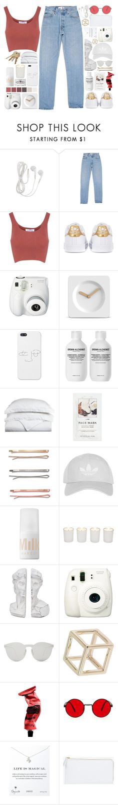 """free as i'll ever be // #207"" by jar-of-hearts-xx ❤ liked on Polyvore featuring Glamorous, adidas Originals, Fujifilm, LEFF Amsterdam, Grown Alchemist, Luxor Treasures, H&M, Madewell, adidas and MILK MAKEUP"