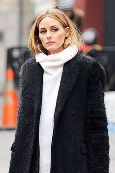 How Olivia Palermo Turns Winter Flyaways Into a Standout Beauty Statement