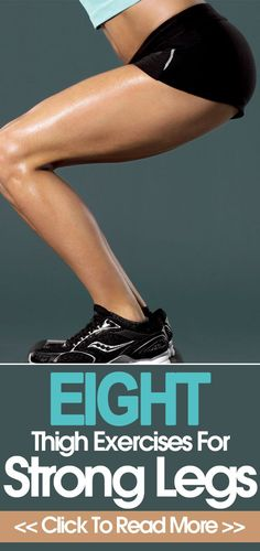 Looking to build some strength in your legs? Here are some routines and exercise for legs and thighs that will help build that strength.