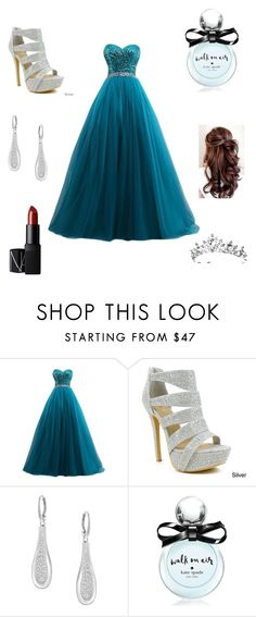 """Prom"" by lemo2202 ❤ liked on Polyvore featuring Celeste, Swarovski, Kate Spade, NARS Cosmetics, women's clothing, women's fashion, women, female, woman and misses"