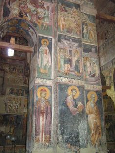 68 Mural Painting, Mural Art, Church Icon, Most Haunted Places, Church Interior, Byzantine Icons, Orthodox Icons, Ikon, Style Icons