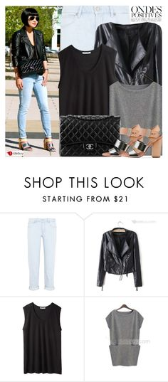 """""""1590. Blogger Style: Phashionable"""" by amber-nicki-rose ❤ liked on Polyvore featuring Anja, M.i.h Jeans, T By Alexander Wang, Chanel, Sam Edelman and tidebuy"""