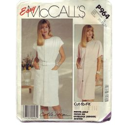 Easy McCalls P964  Size 22  Size 20  Plus by BigfootCountryTrader
