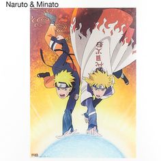 Add a Naruto flare to your space with these clear posters! Each poster features an illustration of characters from the popular franchise. In the first, Naruto teams up with his father Minato to unleash the Rasengan. The second features an emotional illustration of Itachi offering protection to his brother Sasuke. The third highlights the characters Kakashi, Obito and Rin. All three illustrations a...