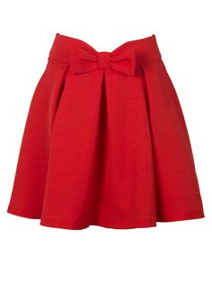 cute red bow skirt for the holidays