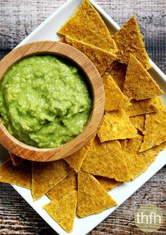 Clean Eating Raw Corn Chips...made with a Vitamix and dehydrator and only a few clean, real food ingredients and they're raw, vegan, gluten-free and dairy-free | The Healthy Family and Home