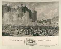 The Bastille Falls and Louis Falters - The Bastille fell on July as the French waved their tricolours and tore down the prison's walls. What was the effect of the fall of the Bastille? Storming The Bastille, The Flashpoint, Medieval Fortress, Louvre, Digital Archives, Parthenon, French Revolution, 14th Century, Nocturne