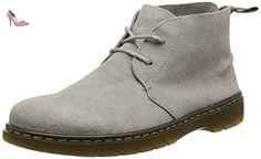 Dr. Martens Ember, Bottes Motardes Homme, Gris (Mid Grey Bronx Suede), 44 EU - Chaussures dr martens (*Partner-Link)