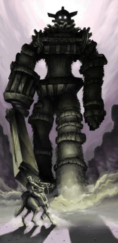 Shadow Of The Colossus Fan Art by pickassoreborn.deviantart.com