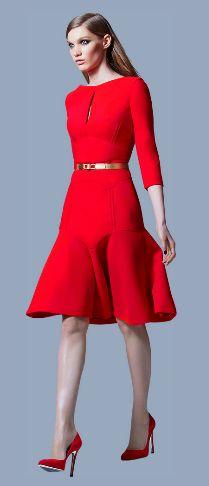 Elie Saab Red Dress