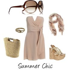 Summer Chic created by Penny J.