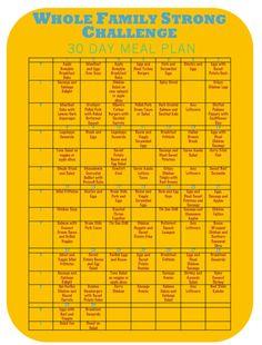 30 day whole paleo plan