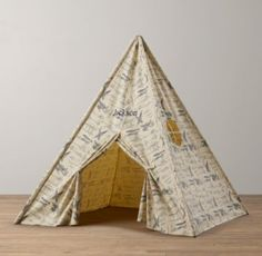 Printed Canvas Tent