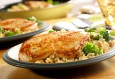 Campbell's Kitchen: Quick & Easy Chicken, Broccoli & Brown Rice