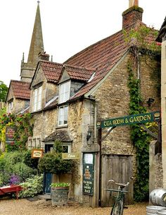 Lacock, England where some harry potter scenes were filmed
