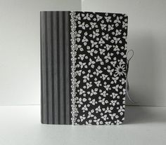 Altered Composition Book Journal or Notebook by MainelyPaper, $12.00