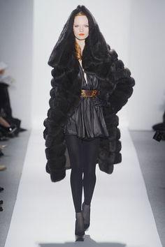 Fur HOOD -- to DIE. Dennis Basso. NYFW. Fall/Winter 2012. Follow Me @Giselle Ugarte