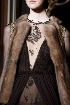 Valentino Fall 2013 Couture Fashion Show Details                                                                                                                                                                                 More