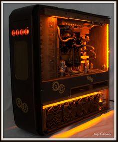 Steampunk'd TJ11 PC Case
