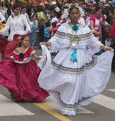 Image result for panama national costume women
