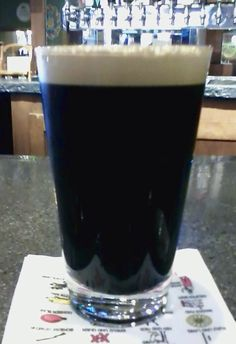 Peanut Butter Chocolate Stout, Hideout Brewing Company | Brewologist: Craft Beer Reviews