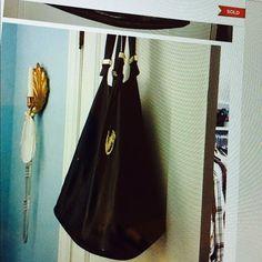 Michael Kors Black Bucket Purse