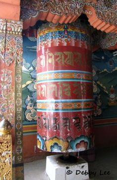 Bhutanese Prayer Wheel