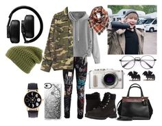"""""""Untitled #171"""" by ms-barnes on Polyvore featuring Dolce&Gabbana, WithChic, Gap, Timberland, Coach, Master & Dynamic, BP., PL8, Casetify and The North Face"""