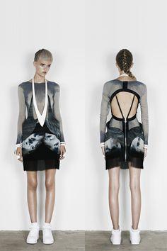 Futuristic Tribalism Fashions : Anne Sofie Madsen Spring 2013