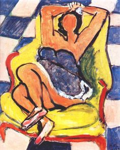 Dancer in Repose. 1942. Henri Matisse