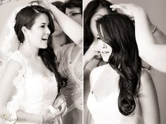 veil hair down on pinterest cathedral veil hair bridal