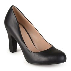 Journee Collection Ice Patent Leather Pumps - JCPenney
