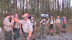 Summerville Boy Scouts hike for bladder cancer research - WCIV-TV | ABC News 4 - Charleston News, Sports, Weather