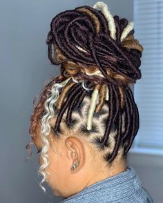 Faux Locs & Goddess Locs Hairstyles- How to Install, Price & Differences Braids Hairstyles Pictures, Faux Locs Hairstyles, Braided Hairstyles For Black Women, African Braids Hairstyles, Baddie Hairstyles, Braids For Black Hair, African Hair Braiding, Black Hair Braid Hairstyles, Cute Weave Hairstyles