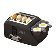 Back to Basic Egg 'N Muffin 4-Slice Toaster/2 Egg Cooker.Opens in a new window