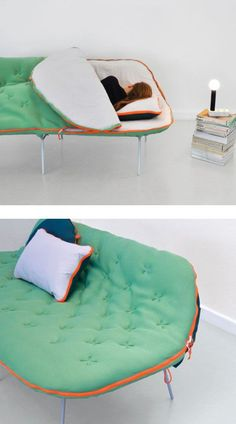 Genius couch crasher! #design #furniture